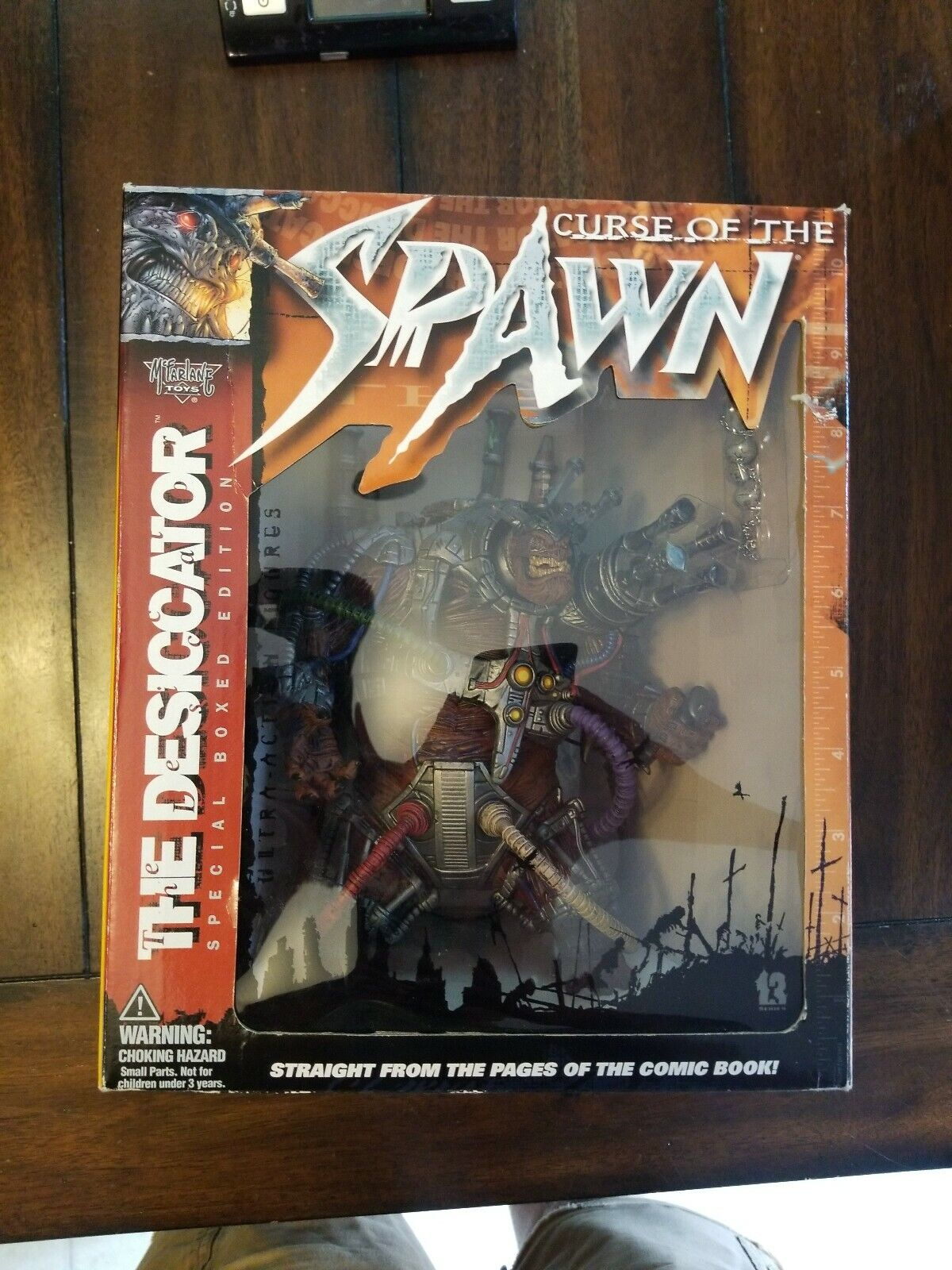 McFarlane Toys Spawn 13 The Desiccator Boxed Set Figure New 1999 Amricons