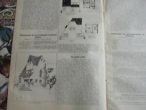 1912 Baugewerkszeitung 63/hanovre Döhren Ballhausen-ung 63 / Hannover Döhren Ballhausen Fr-fr Afficher Le Titre D'origine