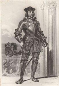 Portrait-de-Thomas-DE-Foix-Seigneur-DE-Lescun-Gravure-XIXe