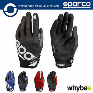 New-002093-Sparco-MECA-3-Mechanics-Gloves-Pitcrew-Race-Team-in-3-Colours-S-XL