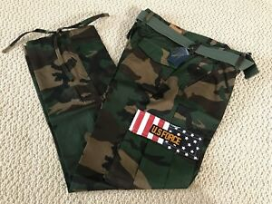 2f46e9bc654bb NWT Men's Swaggers Green Camouflage Camo Cargo Flag Pocket Pants w ...