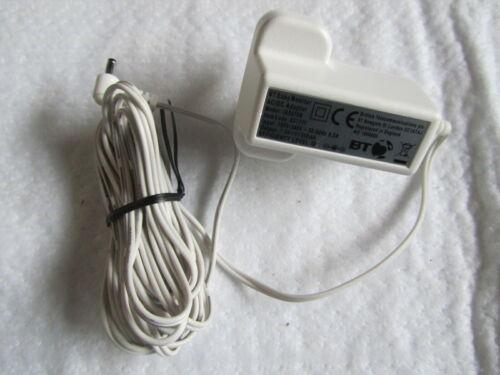 Original BT baby monitor 200 250 adaptor power cable Item Code 057711 7.5V 500mA