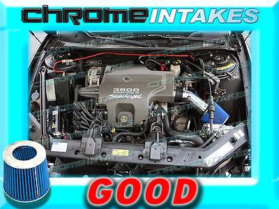 RED BLUE 1995 1996 1997-1999 BUICK RIVIERA 3.8 3.8L V6 AIR INTAKE KIT