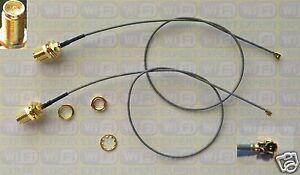 2-Mini-12-034-PCI-U-FL-to-RP-SMA-Antenna-WiFi-Pigtail-Cabl
