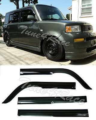 For 04 06 Scion Xb Smoke Tint Mugen Style Side Window