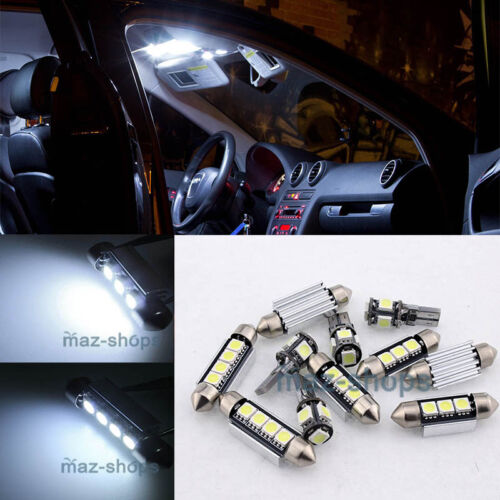 14x  Error Free White Lights SMD Interior LED Fit BMW 7 Series F01 F02 2009-2011