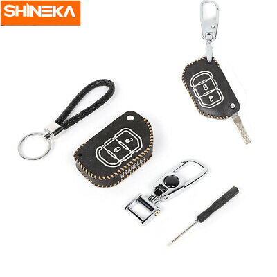 Black Remote Key Fob Protection Case Bag Chain for Jeep ...