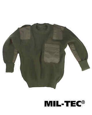 Humor Mil-tec Com.pullover Kids Pan Oliv Kinder Reine WeißE