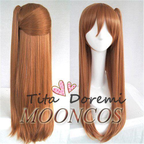 Halloween Wig Hair Cosplay chuunibyou demo koi ga shitai  brown long party Wigs
