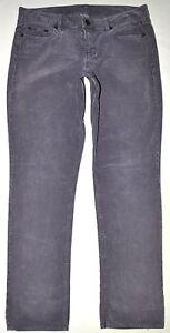 16c56f88c06d J.Crew City Fit Gray Vintage Matchstick Skinny Leg Corduroy Pants Sz ...
