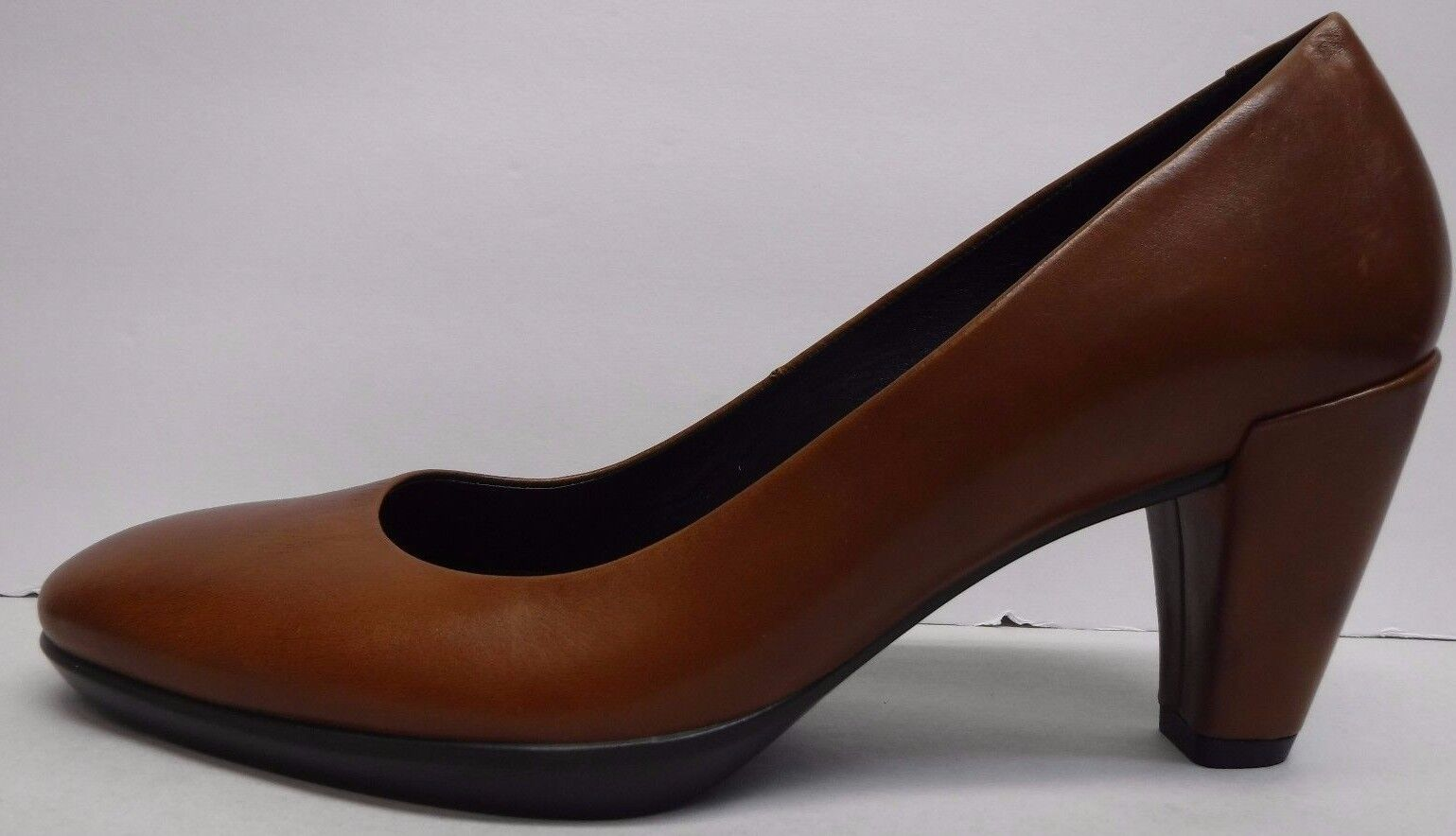 Ecco Size Size Size EUR 37 US 6 6.5 Brown Leather Pumps New Womens shoes 6283f6