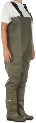 DUNLOP PVC CHEST WADERS