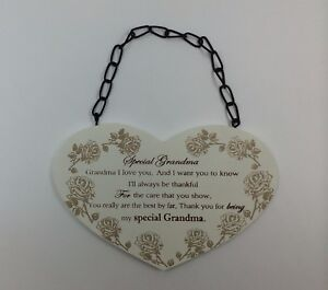 Image Is Loading Special Grandma Poem Plaque Birthday Gift Ideas For