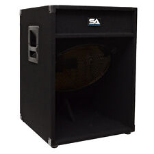 Seismic Audio 18 Inch PA SPEAKER BOX SUBWOOFER Cabinet~NO WOOFERS~Sub