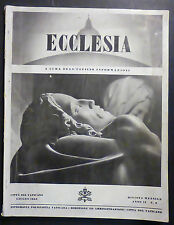 ECCLESIA - N. 6/1943 - SPEC. PRIGIONIERI DI GUERRA ITALIANI