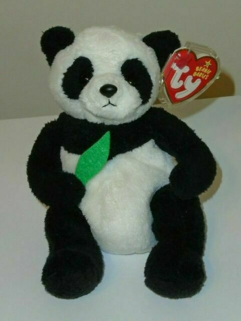 the Panda Ty Beanie Baby MANCHU