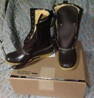 Women's L.l.bean 10 Shearling-lined Brown/brown Size 8 Medium (b)