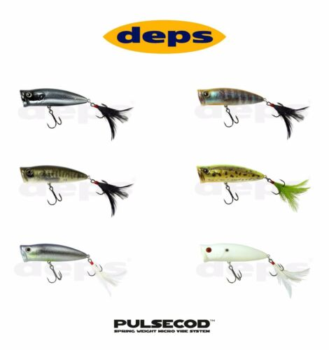 s Select Color Deps Pulsecod Topwater Popper Lure