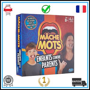 Jeux-De-Societe-Famille-Amis-Drole-Rapidite-Mache-Mots-200-Cartes-Educatif-Neuf