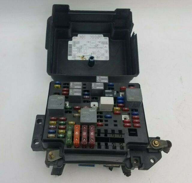96 S10 Fuse Box