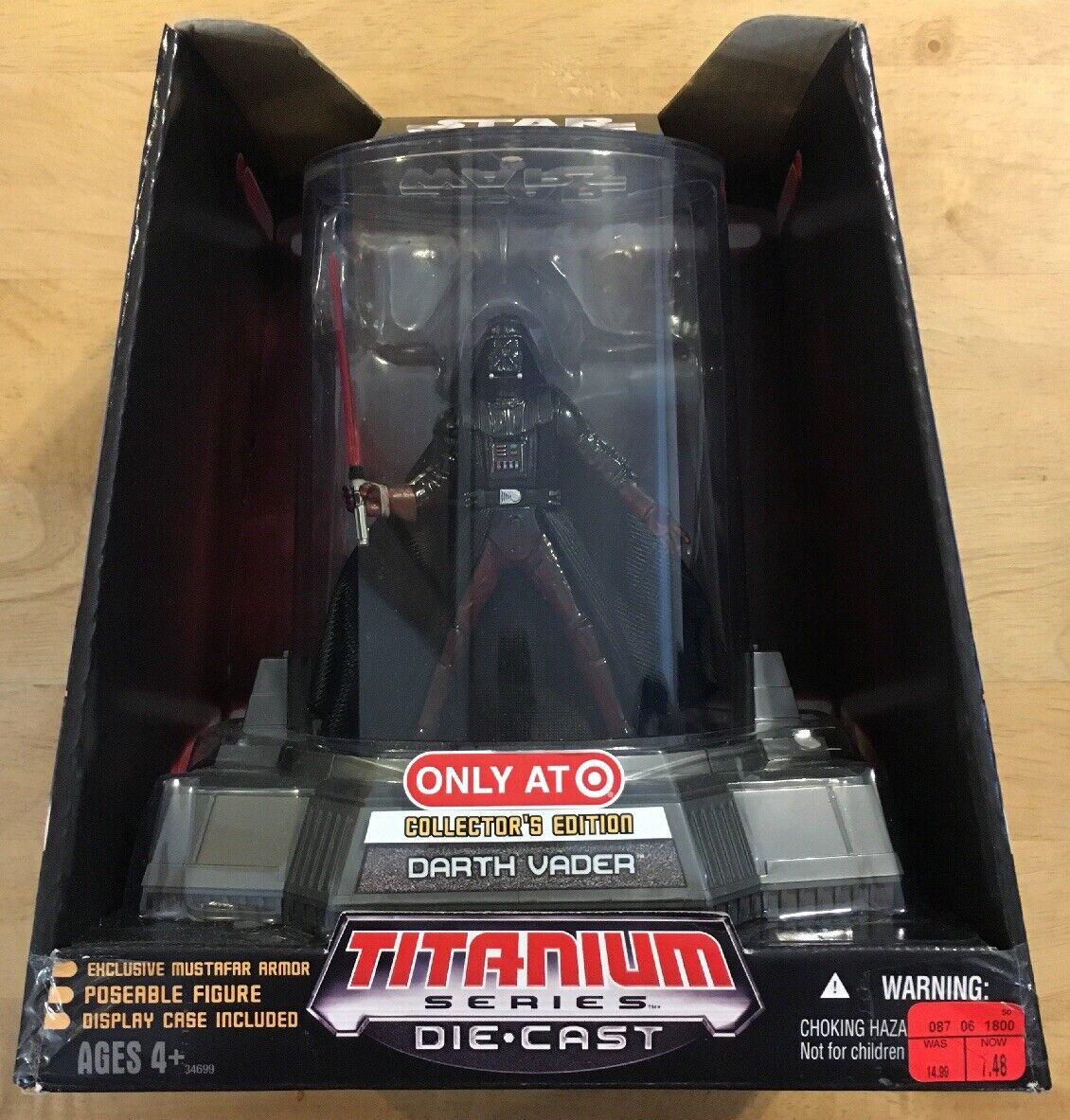 Titanium Series Die Cast Darth Vader Target Target Target Exclusive 393e8e