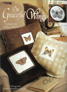 On-Graceful-Wings-Butterflies-in-Cross-Stitch-Leisure-Arts-3264-12-Designs