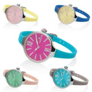 Orologio-Donna-HOOPS-SPLASH-2570LP-Silicone-Colorato-Lady-LIMITED-EDITION
