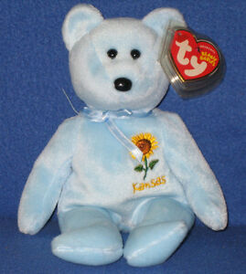 e3d4c3b8b1e Image is loading TY-KANSAS-SUNFLOWER-STATE-FLOWER-BEANIE-BABY-EXCLUSIVE-