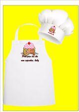 Cup Cake Fun Chefs Apron & Chefs Hat Set, Pork Pie Chefs Apron Chefs Hat Set