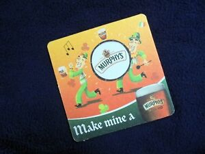 COLLECTIBLE-BEERMATS-MURPHY-039-S-IRISH-RED-ST-PATRICK-039-S-DAY-COASTER-BIERVILTJE