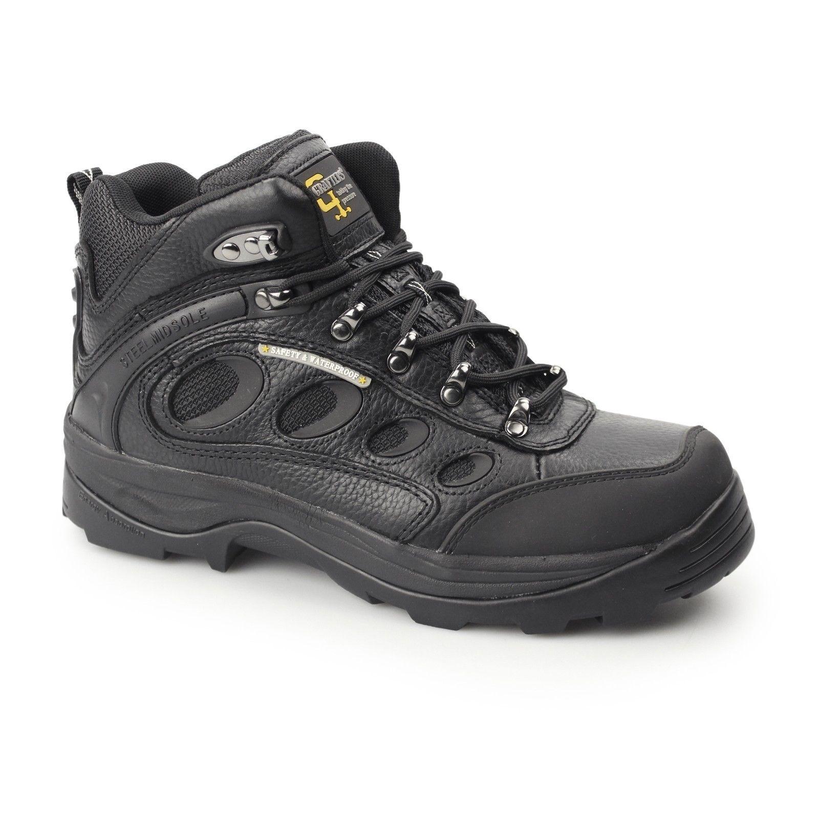 Da Uomo S3 tipo jontex Escursionista Stivali Di Sicurezza jontex tipo Impermeabile & Traspirante Membrana 6 -10 16569f