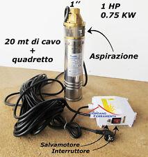 "POMPA SOMMERSA 4 "" HP 1 Elettropompa Periferica MATRA Venus 100 *27221*"