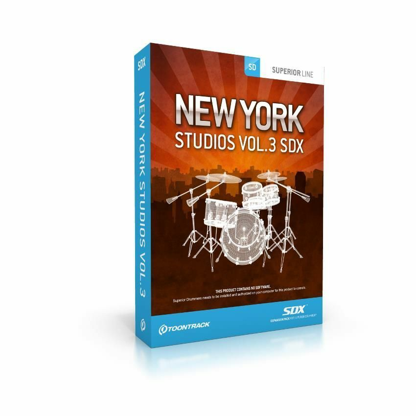 TOONTRACK SDX New York Studios Vol.3 Download
