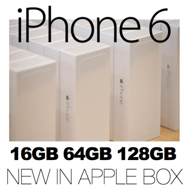 New in a Apple Box iPhone 6 16GB 64GB 128GB 4G Factory Unlocked Smartphone MEL