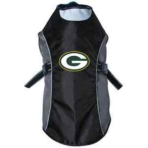NEW-GREEN-BAY-PACKERS-PET-DOG-PREMIUM-REFLECTIVE-JACKET-LICENSED-ALL-SIZES