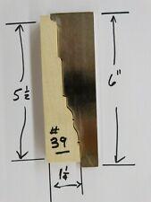 Shaper Molder Custom Corrugated Back Cb Knives For 5 12 Casing