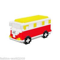 Nano Block Building Blocks Sets Mini Blocks Toys Kids Boy Gift Series- Bus