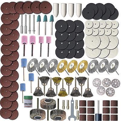 365pcs Brass Wire Brush  textile polishing wheels full set for Dremel, Proxxon