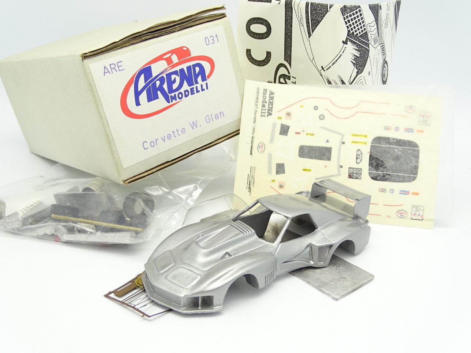 Arena Kit para montar 1 43 - Chevrolet Corvette Watkins Glen 1977