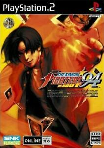 PS2-KING-OF-FIGHTERS-94-RE-BOUT-Limited-Book