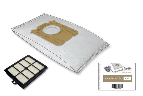 1 HEPA-Filter passend für AEG VX9-4-8IBM 20 Staubsaugerbeutel