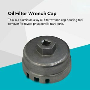 Oil-Filter-Wrench-Cap-Housing-Tool-Remover-64-5mm-14-Flutes-For-Toyota-Lexus-un