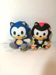 New-SONIC-THE-HEDGEHOG-Lot-of-2-Licensed-Plush-Stuffed-Toys