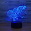 SPIDER MAN AVENGERS LEGENDS 3D Acrylic LED 7 Colour Night Light Touch Lamp XMAS