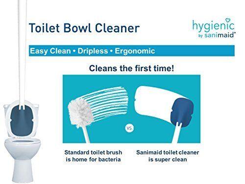 So-Mine hygiénique par sanimaid Brosse De Toilette//Nettoyage Outil Avec Gravité Fed mur Mo