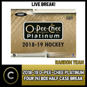 2018-19-O-PEE-CHEE-PLATINUM-HOCKEY-4-BOX-HALF-CASE-BREAK-H292-RANDOM-TEAMS