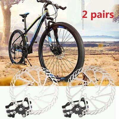 160mm Mechanical Disc Brake Front Rear calipers road Bicycle Mountain bike