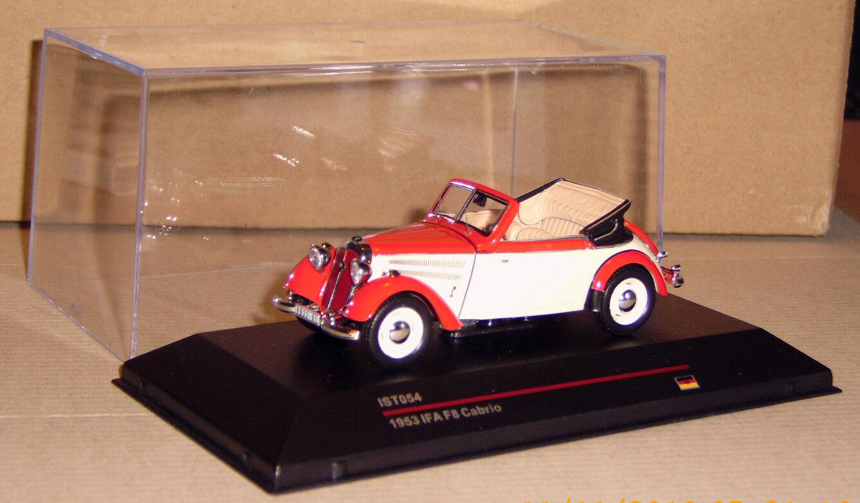 IFA f8 F 8 cabriolet est Models Rouge Beige 1 43 Détail exactement comme neuf