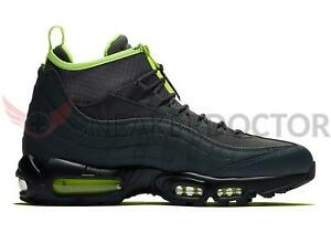 Details about New Nike Mens Air Max 95 Sneakerboot AnthraciteVoltDark Grey Black SIZE 9