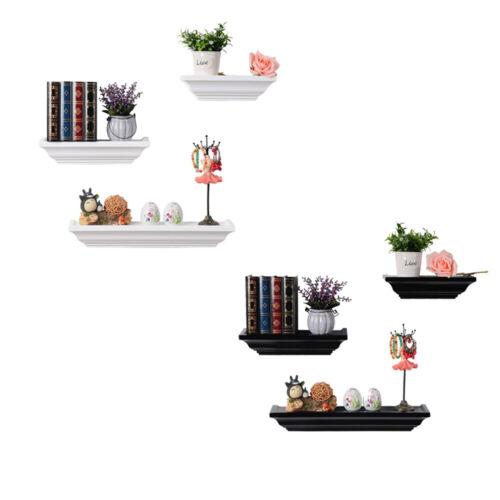 modernes Regal Wandregal 3er Set Schweberegale für Fotorahmen und Bücher